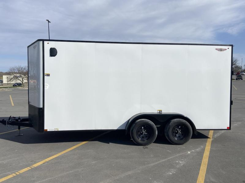 2020 H&H Trailers 7x16 Cargo with Ramp Enclosed Cargo Trailer