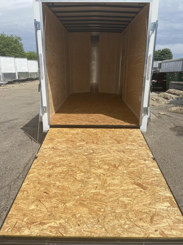 2020 Doolittle Trailer Mfg 6x12 Tandem Axle Bullitt Cargo Enclosed Cargo Trailer w/Ramp Door