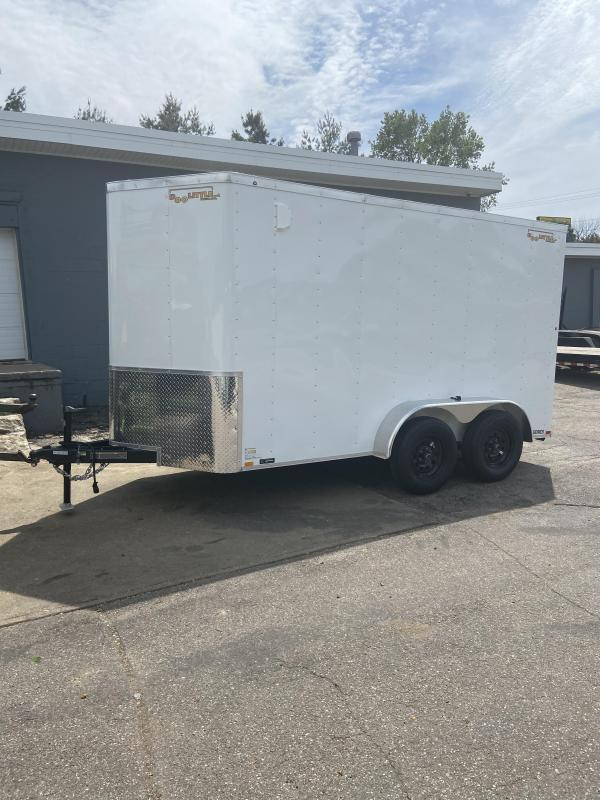 2020 Doolittle Trailer Mfg 6x12 Tandem Axle Bullitt Cargo Enclosed Cargo Trailer w/Ramp Door