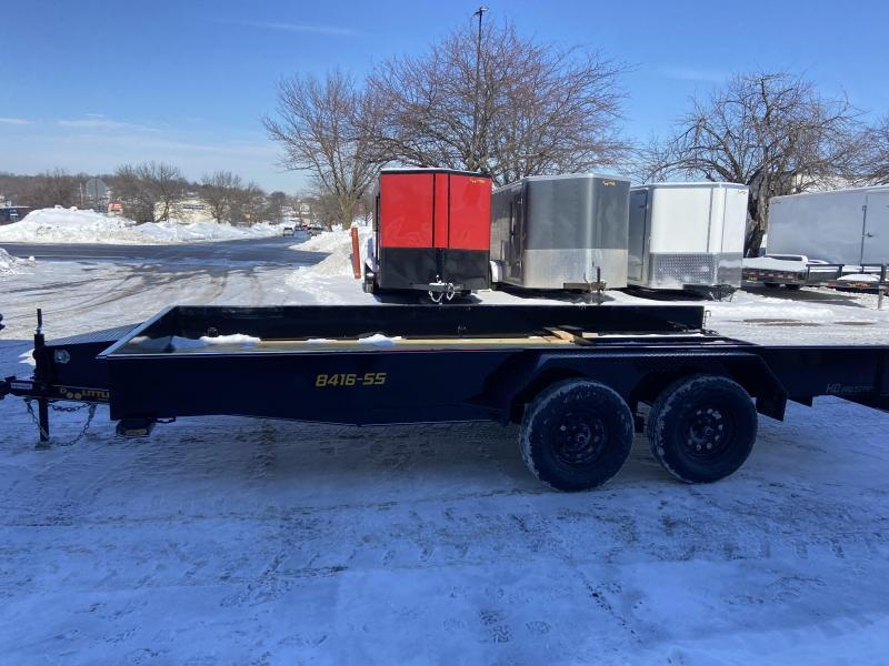 Doolittle 84x16 Tandem Axle Utility Trailer W/Solid Sides