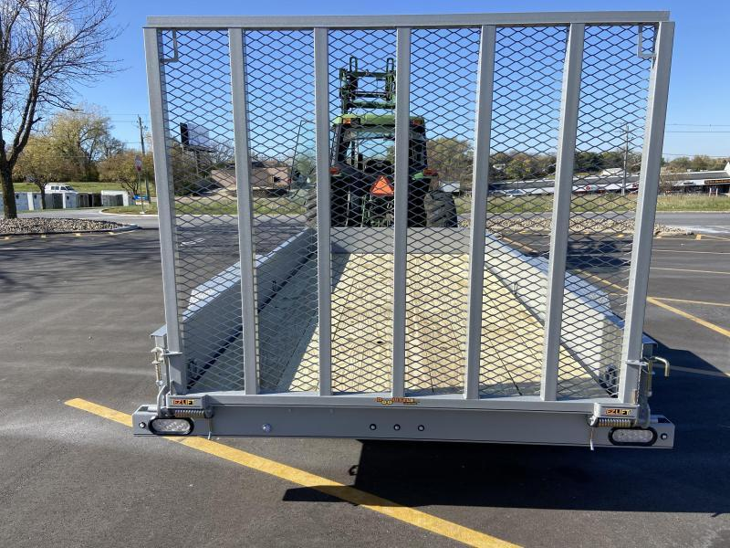 Doolittle 77x14 Tandem Axle Utility Trailer W/Solid Sides