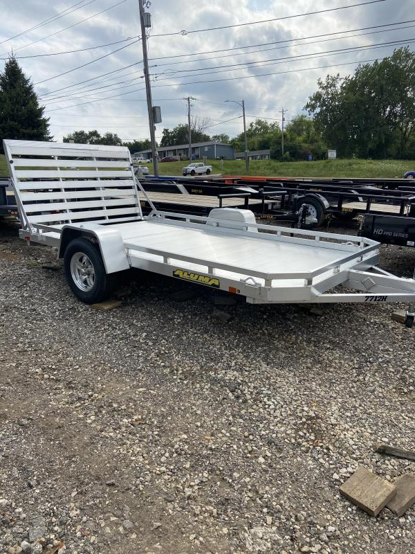2021 Aluma LTD Aluminum 77x12 HD Utility Trailer