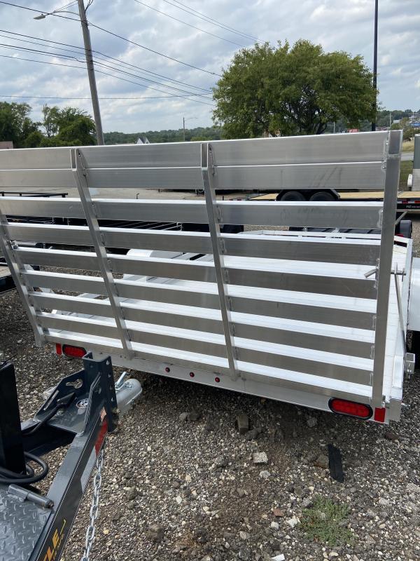 2021 Aluma LTD Aluminum 77x12 HD Utility Trailer