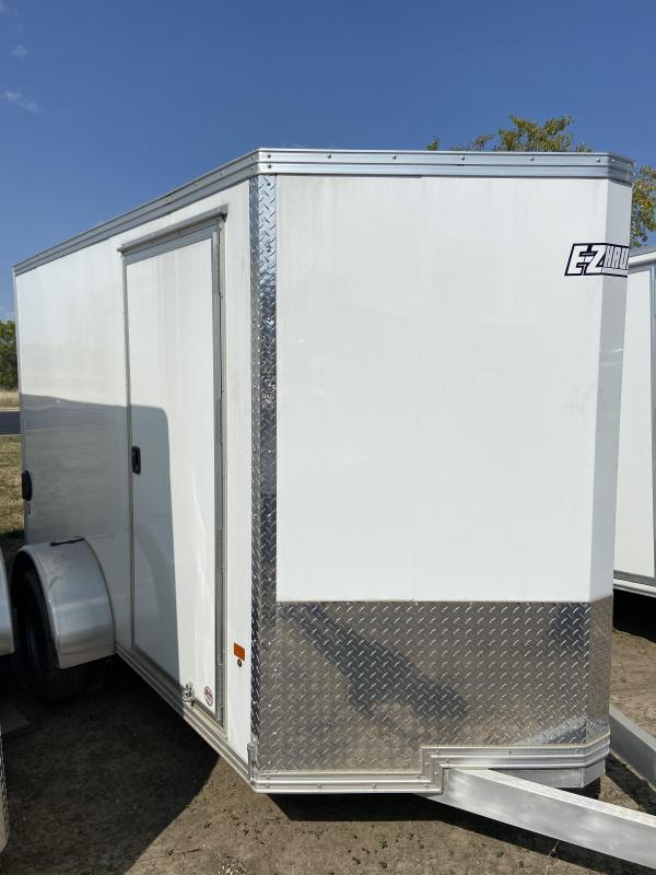 2019 Mission EZ Hauler 6x10 Single Axle Cargo Trailer With (Light Hail Damage)