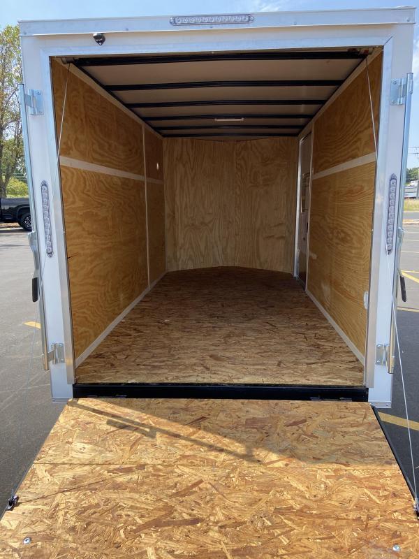 2021 Doolittle Trailer Mfg 6x12 Bullitt Cargo Enclosed Cargo Trailer w/Ramp Door
