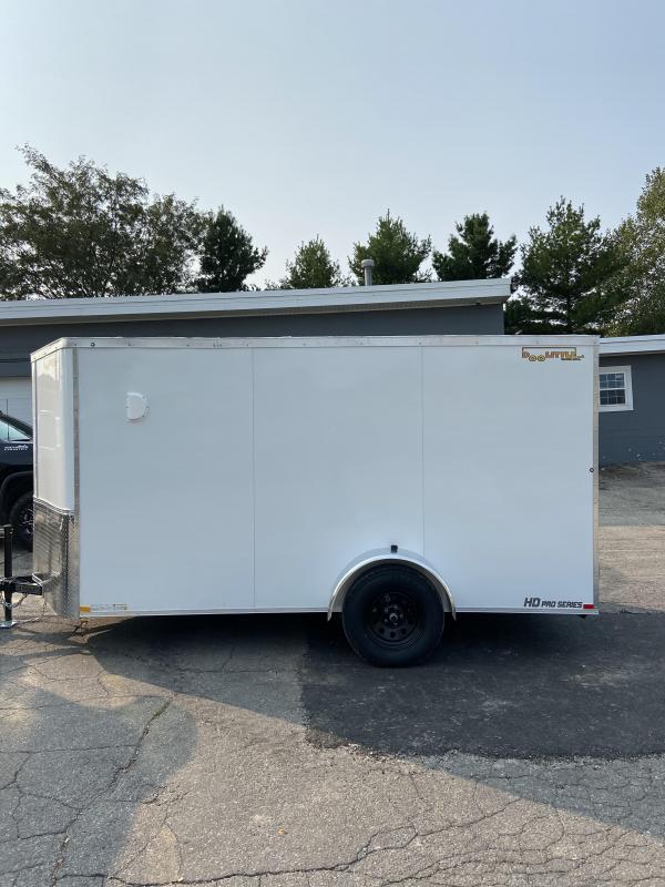 2021 Doolittle Trailer Mfg 6x12 Bullitt Cargo Enclosed Cargo Trailer w/Double Doors