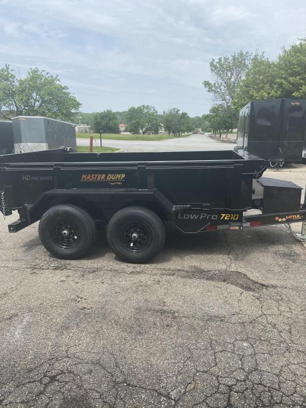 2021 Doolittle Trailer Mfg 72x10 Master Dump 7000lb GVWR Dump Trailer