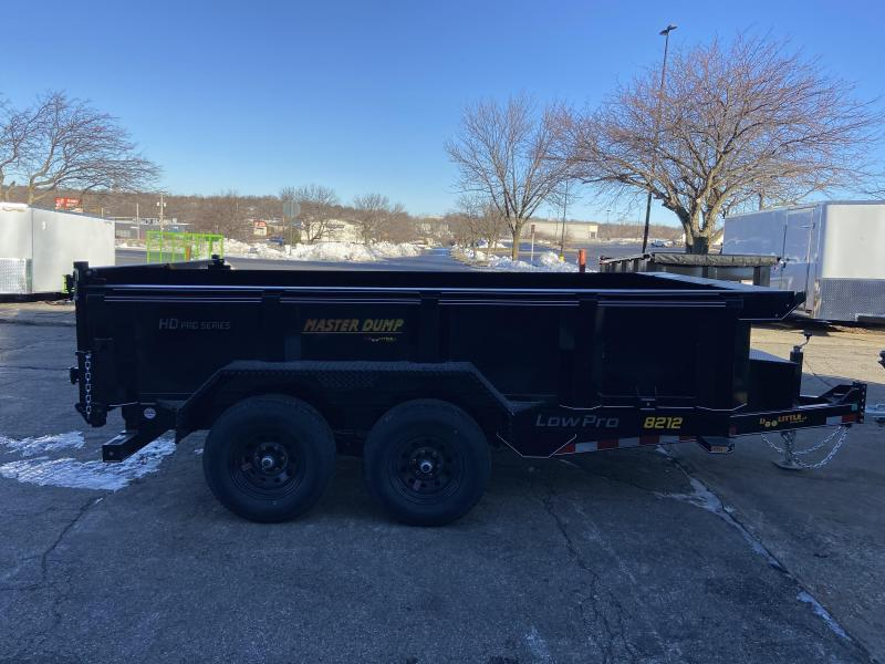 Doolittle Trailer Mfg 82x12 Master Dump 14000lb GVWR Dual Cylinder Dump Trailer
