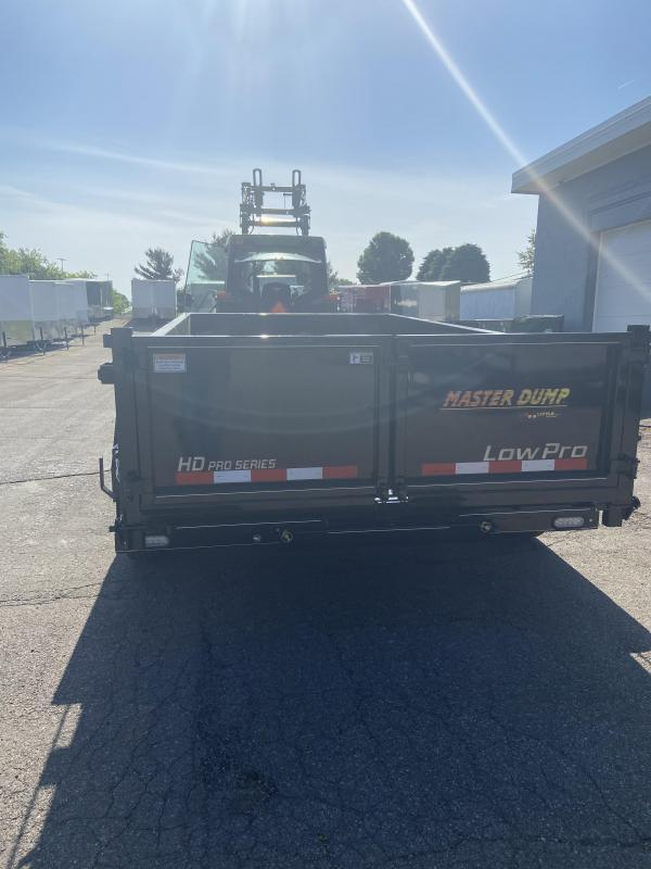 2020 Doolittle Trailer Mfg 82x14 Master Dump 14000lb GVWR Dump Trailer