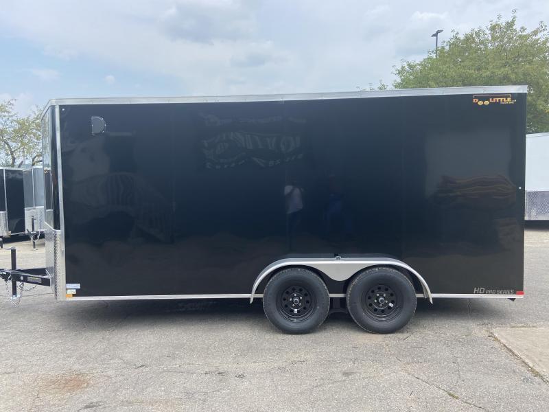 2022 Doolittle 7x16 Doolittle Cargo Trailer w/Ramp Door