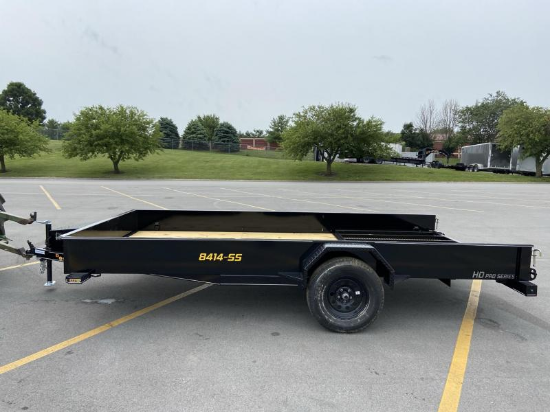 84x14 Single Axle Utility Trailer W/Solid Sides
