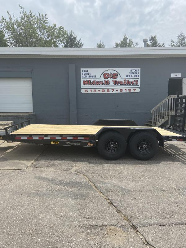 2021 Doolittle Trailer Mfg 82x18 Doolittle Extreme HD Skid Loader Trailer
