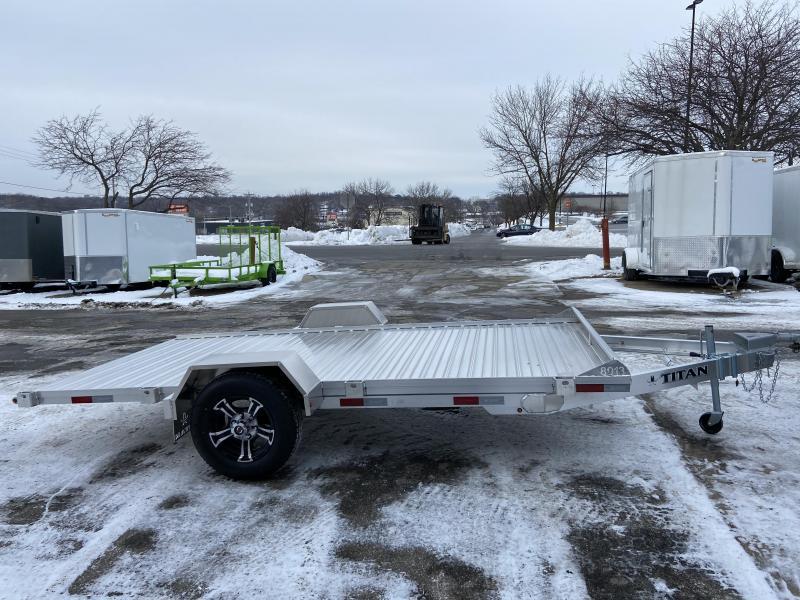 2021 Titan Trailers 80x13 Aluminum Tilt Deck Utility Trailer