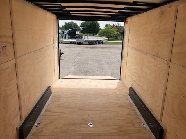 "2020 Cargo Mate 7.5X18 VNOSE RAMP DOOR 12"" EXTRA HEIGHT UTV PKG"