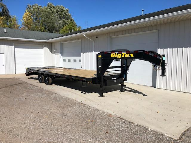 2021 Big Tex Trailers 14GN-20+5 Equipment Trailer