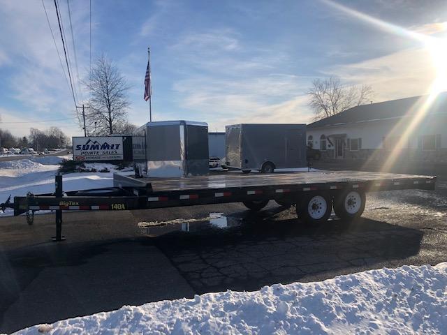 2017 Big Tex Trailers 8.5x22 Deckover 14k Bumper Pull Equipment Trailer Equipment Trailer