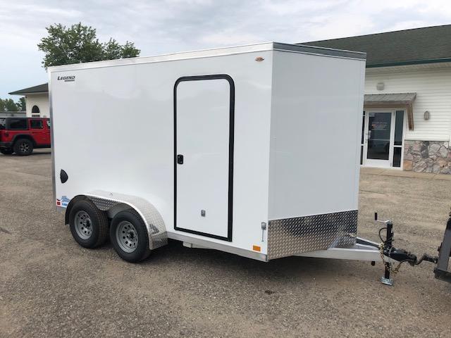 2021 Legend Trailers 7X14TV All Aluminum Enclosed Cargo Trailer