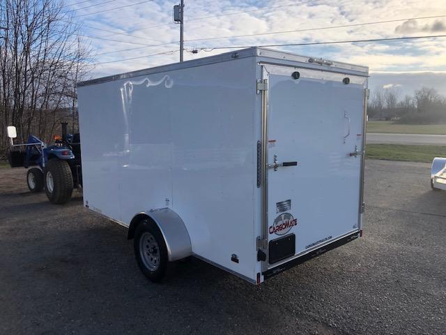 2022 Cargo Mate 6x12 VNOSE RAMP DOOR Enclosed Cargo Trailer