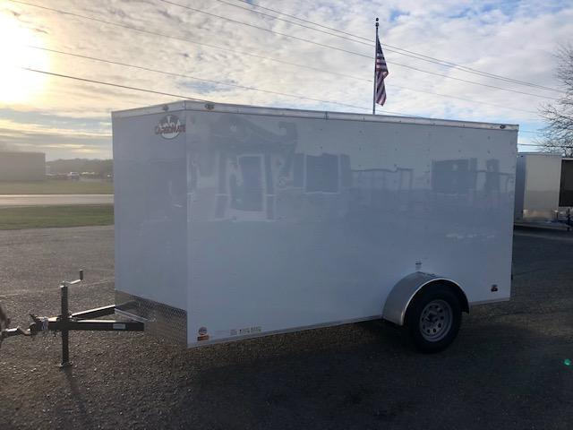 2022 Cargo Mate 6x12 VNOSE RAMP DOOR Enclosed Cargo Trailer