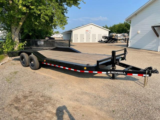 2022 IRONBULL 8.5X22 SUPERWIDE 14K EQUIPMENT TRAILER WITH MONSTER RAMPS