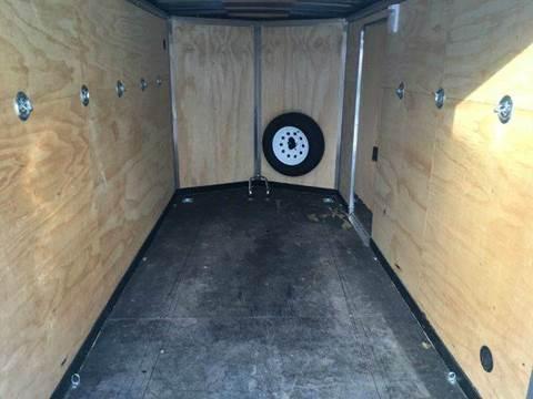 2013 Royal Cargo ENCLOSED RENTAL TRAILER 6X12 V NOSE RAMP DOOR