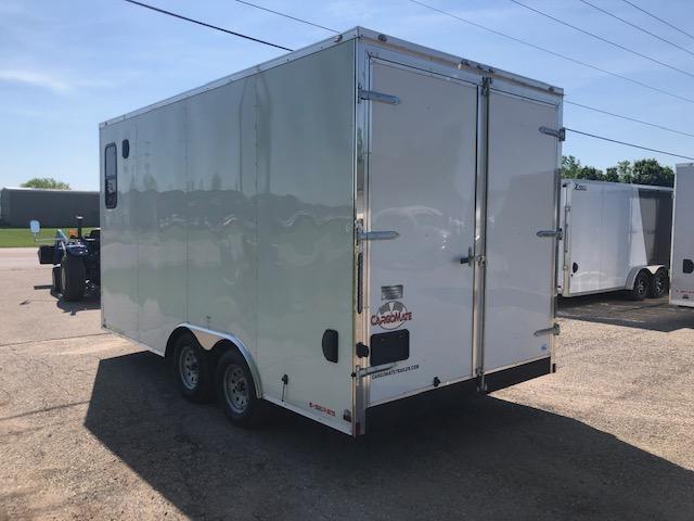 2019 Cargo Mate 8.5X16 VNOSE DOUBLE DOOR ENCLOSED TRAILER
