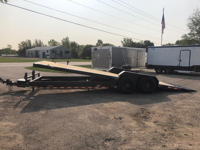 2021 Iron Bull TLB14 - 14000lb GVWR Tandem Axle Low-Pro Tilt Equipment Trailer