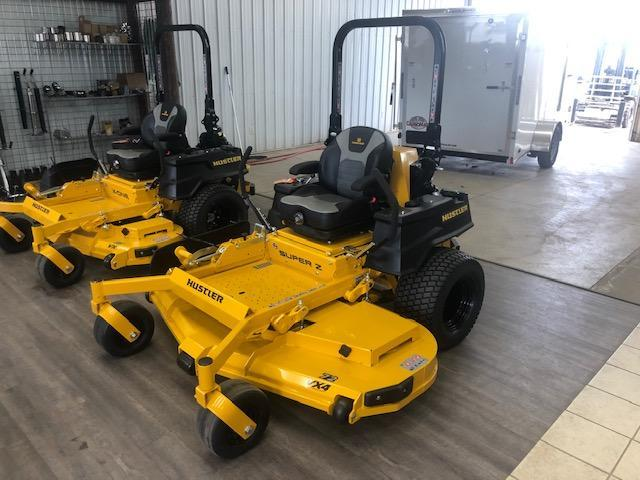 "2021 Hustler Super Z HyperDrive 72"" Lawn Equipment"