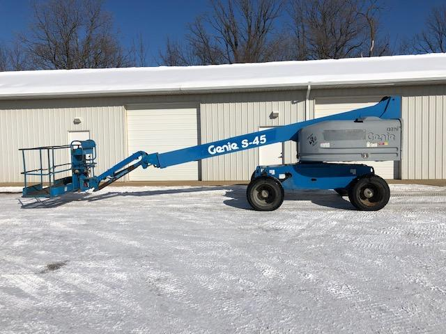 2007 Other Genie S-45 Telescopic Boom Lift Construction