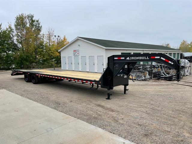2022 Iron Bull FLG - 22K Gooseneck Low-Pro Equipment Trailer