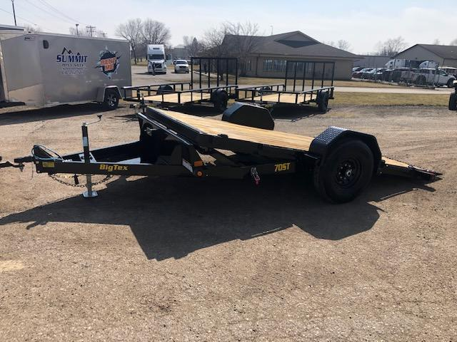 2021 Big Tex Trailers 7x13 7k Gravity Tilt Equipment trailer Equipment Trailer