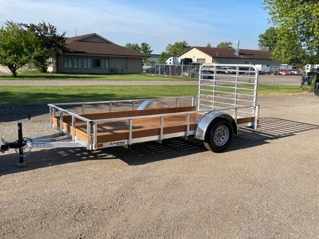 Aluminum utility trailer
