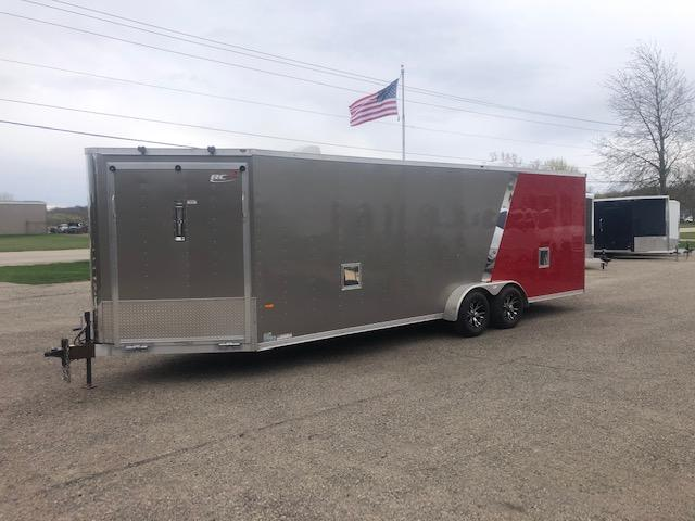 2015 RC Trailers 7x29 All Aluminum In line Snow/ATV Enclosed trail Enclosed Cargo Trailer