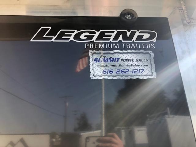 2021 Legend Trailers 7.5X29ETA35 Snowmobile Trailer