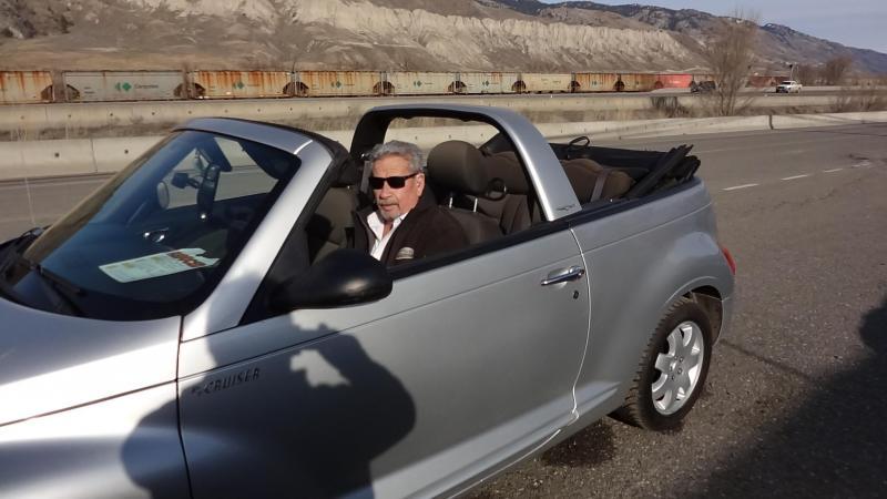 2005 Chrysler PT Cruiser LHD Touring Convertible
