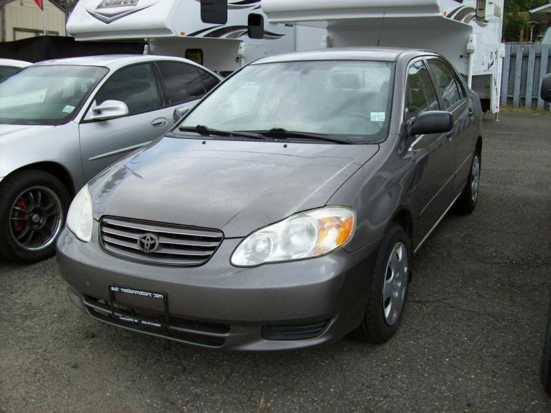 2004 Toyota Corolla Car