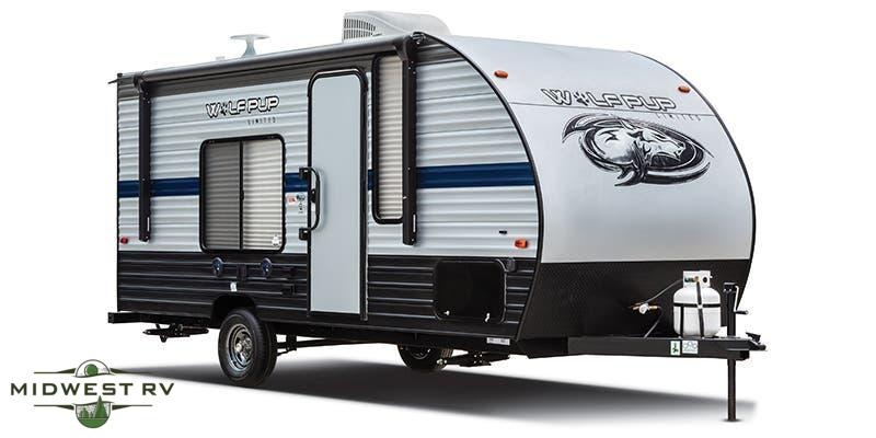 2021 Forest River Wolf Pup 18TO Travel Trailer RV