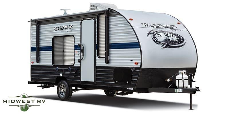 2021 Forest River Wolf Pup 16FQ Travel Trailer RV