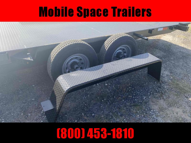 82x18 10k Power Tilt Steel Deck Equipment Trailer