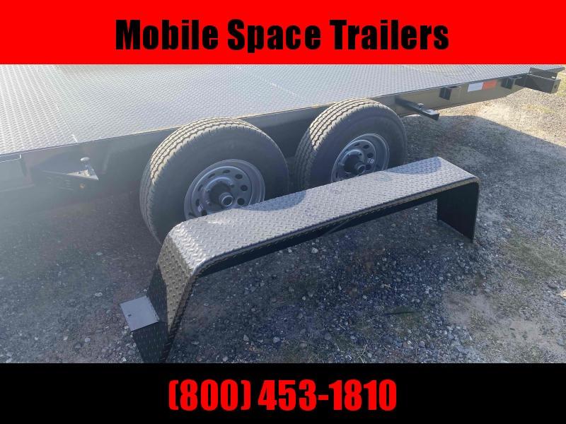 82x18 10k Power Tilt Steel Deck Equipment Trailer