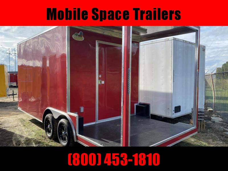 8.5x20 Concession W/ 7' Porch Finished Interior Electrical Vending / Concession Trailer