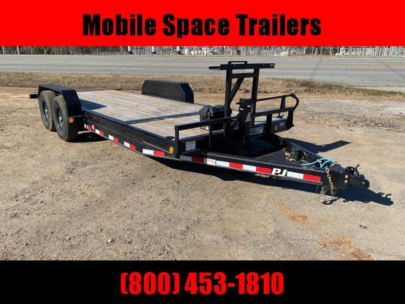 2020 PJ Trailers Used 82x20 14k PJ Gravity Tilt Equipment Trailer
