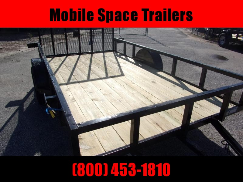 Down 2 Earth Trailers 76x12ut Utility Trailer single axle