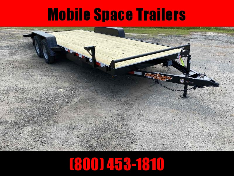 Down 2 Earth Trailers 82x20 7k Car Hauler