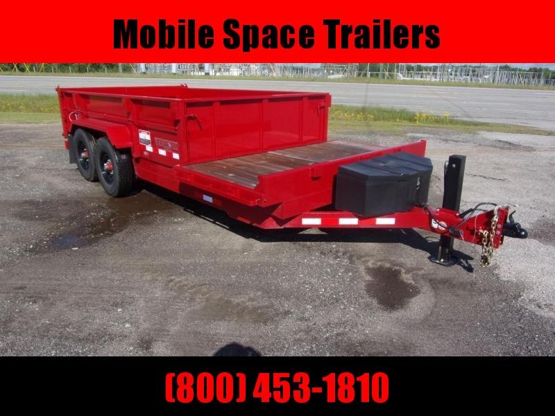 Midsota DUMP 18 FFRD Dump Trailer with Hydraulic Jack