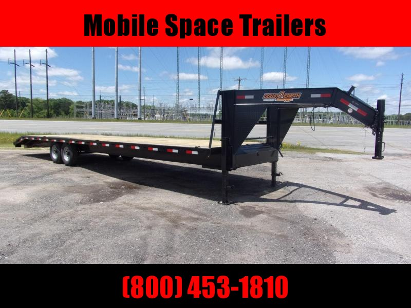 "Down 2 Earth Trailers 102"" 34' 2 Car Hauler Gooseneck"