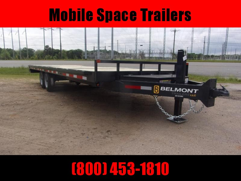 Belmont Trailers equipment 102x24 16k Hydraulic tilt deck Equipment Trailer