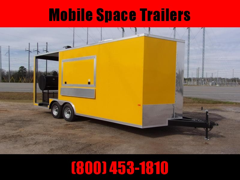 2020 Rock Solid Cargo 8.5x20 Concession W/ 7' Porch Vending / Concession Trailer