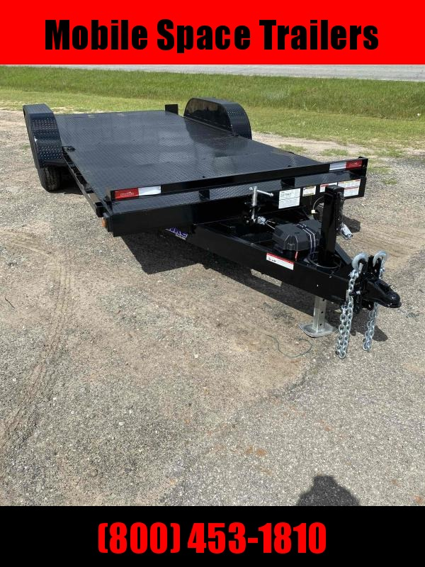 Hawke Trailers equipment 80x20 12k Hydraulic tilt deck Equipment Trailer