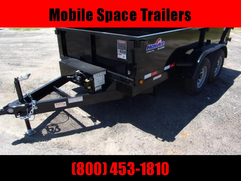 "Hawke 6x10 20"" high side 10k Low Pro Dump Trailer"